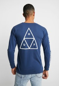 HUF - ESSENTIALS TEE - Long sleeved top - insignia blue - 2