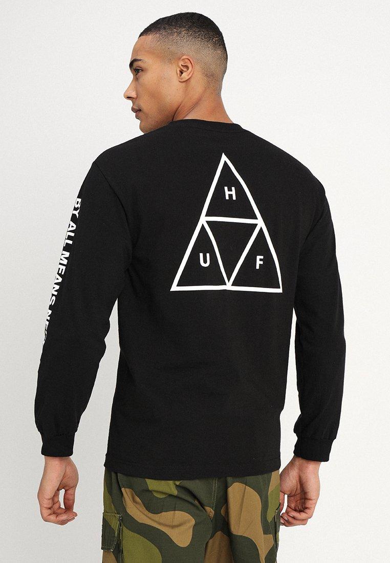 HUF - ESSENTIALS TEE - Long sleeved top - black