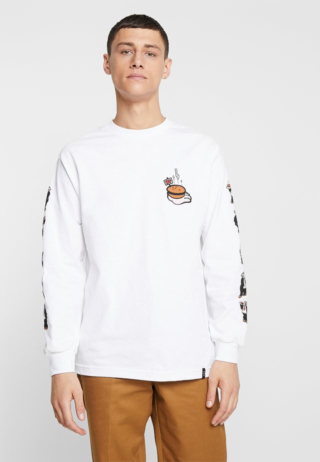 HUF X  POPEYE WIMPY TEE  - Long sleeved top - white