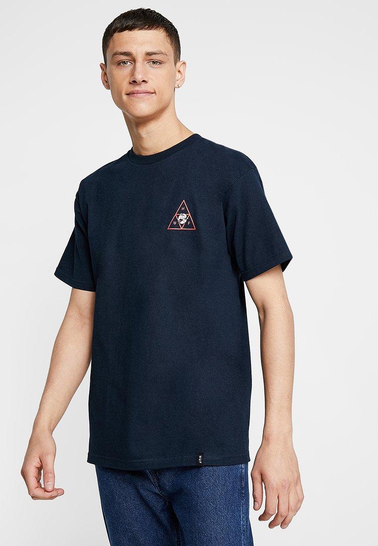 HUF - HUF X POPEYE SPINACH TEE - T-shirt med print - navy