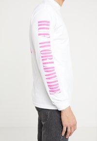 HUF - JUNGLE TEE - Long sleeved top - white - 5