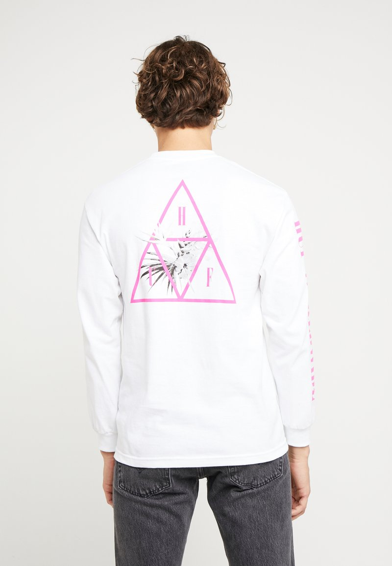 HUF - JUNGLE TEE - Long sleeved top - white