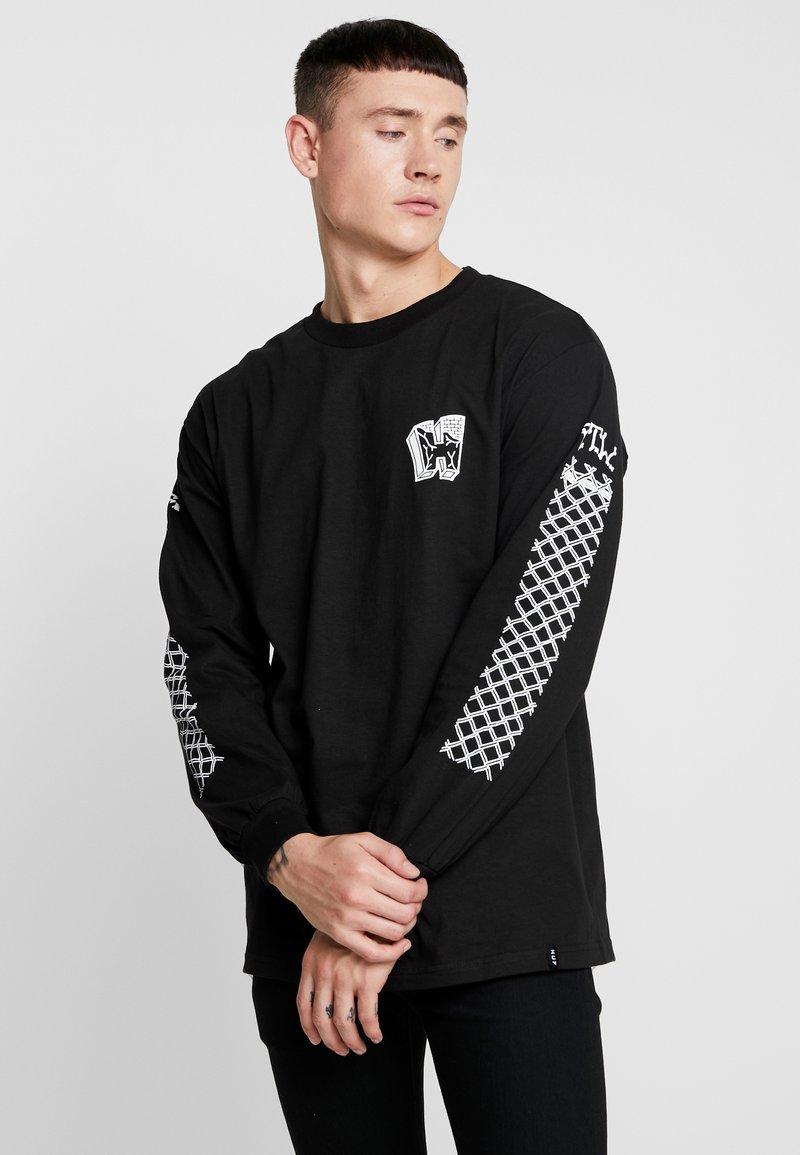 HUF - PAVILLION TEE - Long sleeved top - black