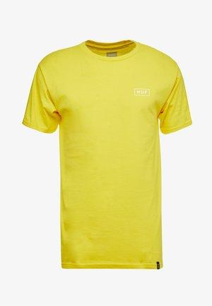 ICE CREAM TEE - T-shirt con stampa - yellow