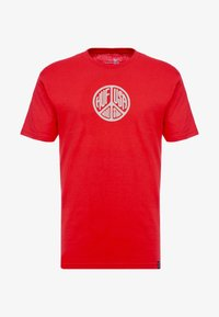 HUF - WOODSTOCK STAFF TEE - T-shirt con stampa - red - 4