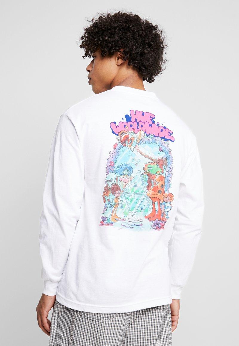 HUF - BODE'S WORLD TEE - Long sleeved top - white
