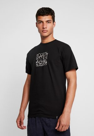 PANTHERA BOX LOGO TEE - T-shirt con stampa - black