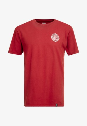 COORDIANTES TEE - T-Shirt print - rose wood red