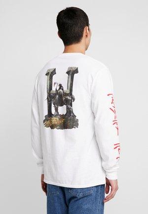 FRAZETTA DEATH DEALER TEE - Long sleeved top - white