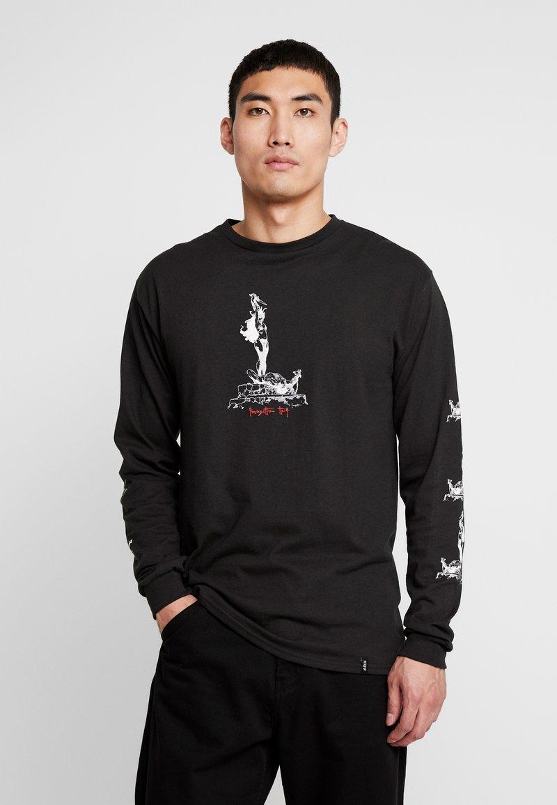 HUF - FRAZETTA SACRIFICE TEE - Långärmad tröja - black