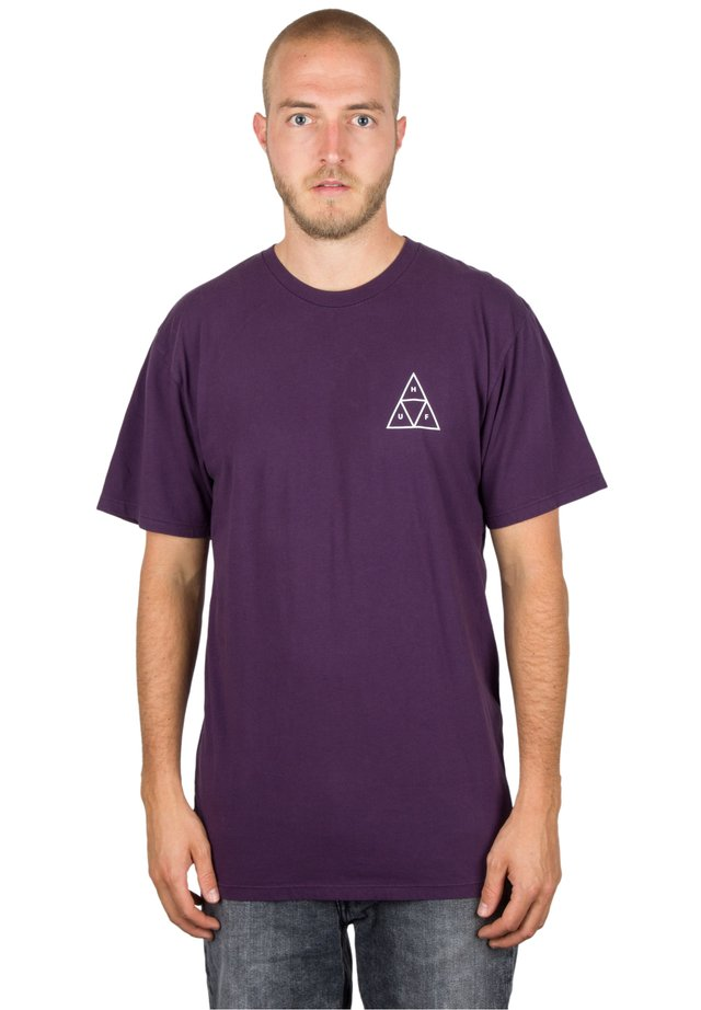TRIANGLE - Print T-shirt - purple velvet