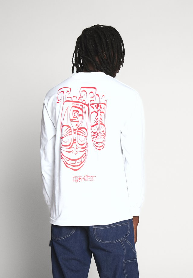 PHIL FROST TEE - Long sleeved top - white