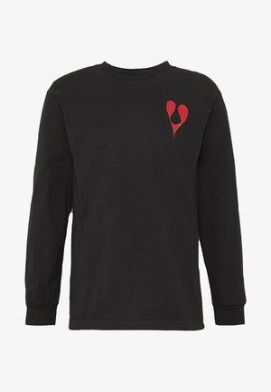 PHIL FROST TEE - Long sleeved top - black