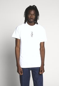 HUF - PHIL FROST BEARBRICK TEE - T-Shirt print - white - 0