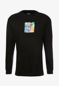 HUF - COMICS BOX LOGO TEE - Langarmshirt - black - 3