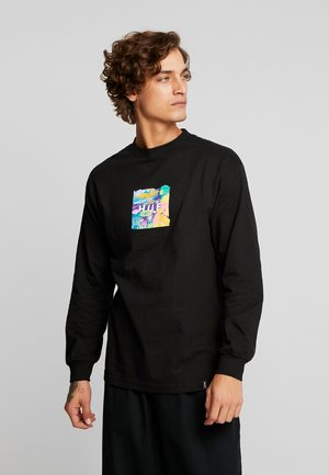 COMICS BOX LOGO TEE - Langarmshirt - black