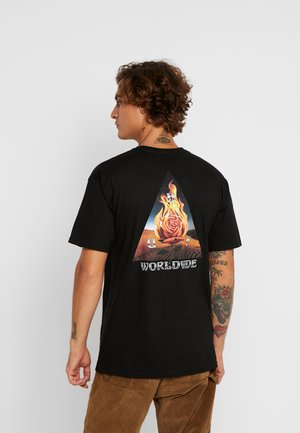 EMBER ROSE TEE - Print T-shirt - black