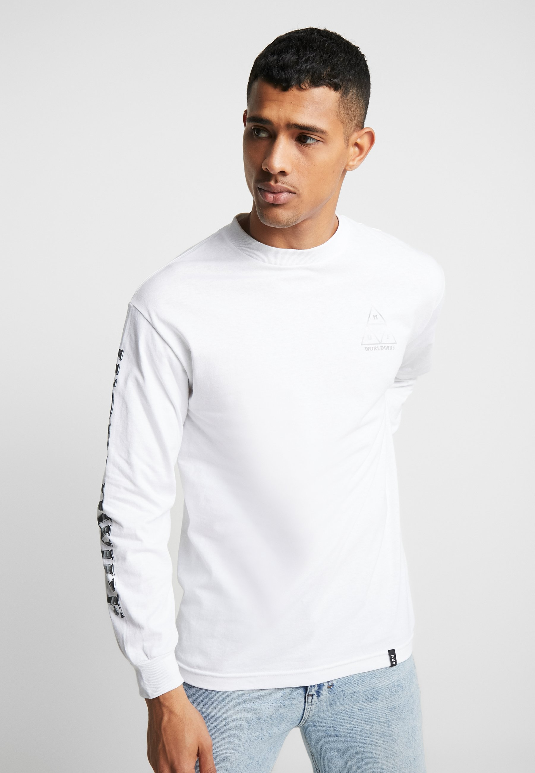 HUF EMBER ROSE TEE - T-shirts print - black