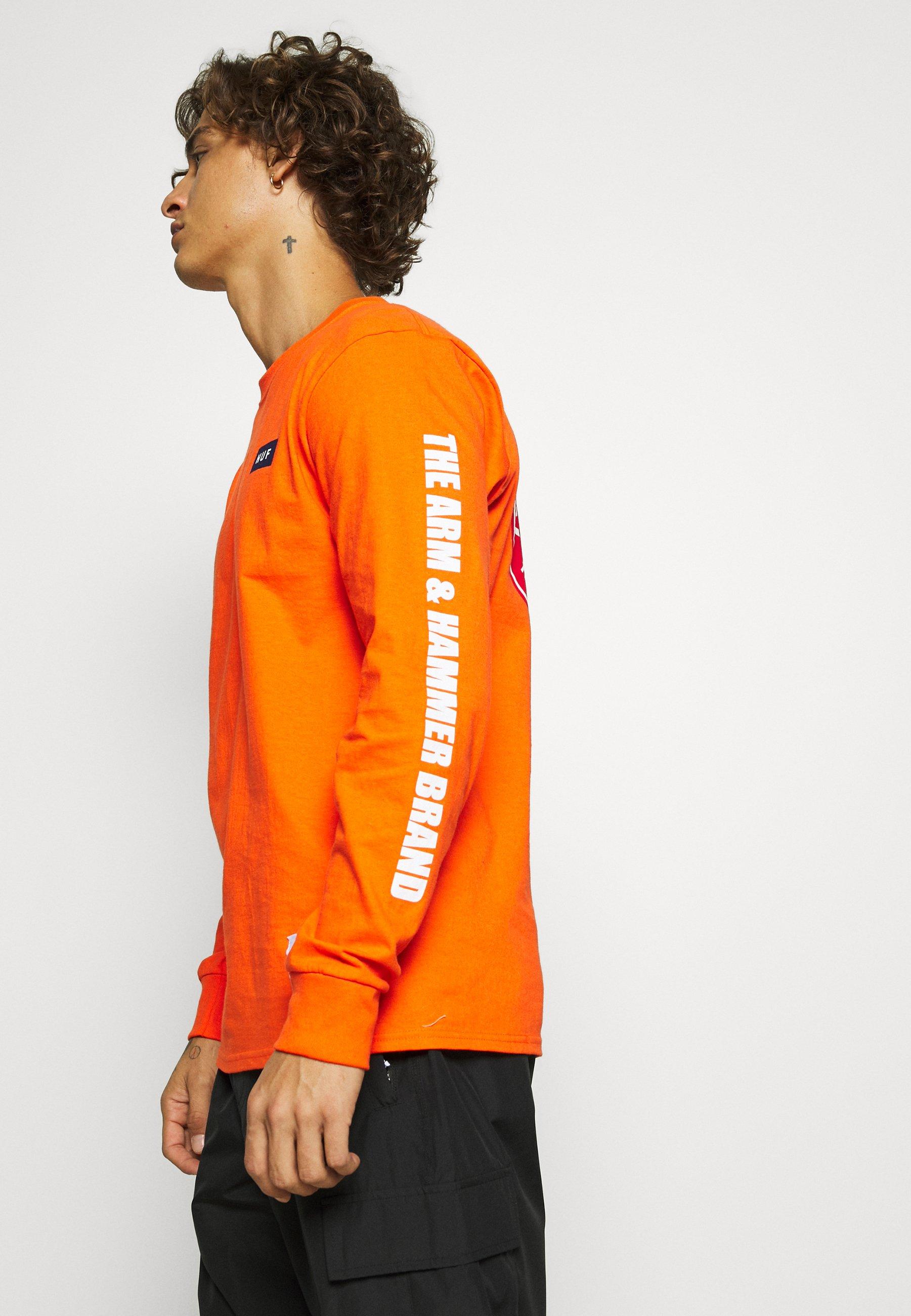 Huf Arm Hammer Seal Tee - T-shirt À Manches Longues Orange