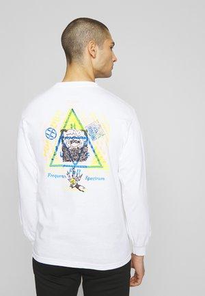 FULL FREQUENCY  - Långärmad tröja - white