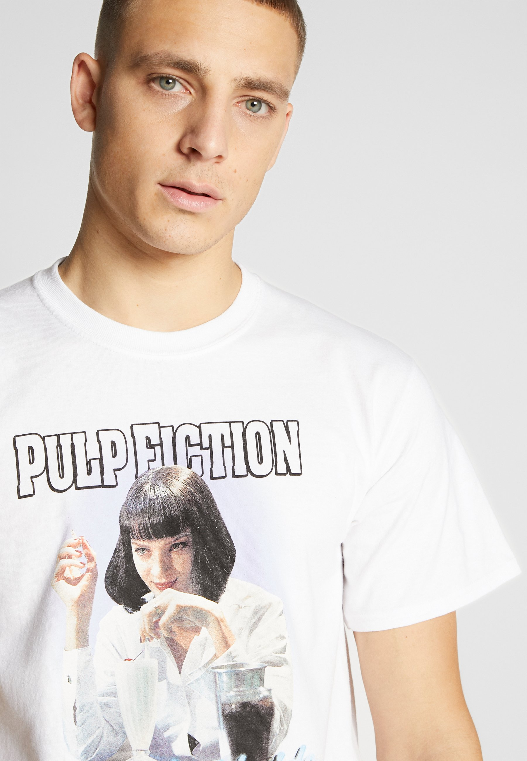 HUF PULP FICTION MIA AIRBRUSH TEE - T-shirt con stampa - white