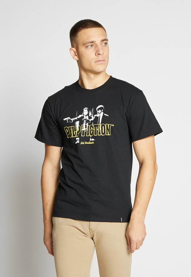 PULP  FICTION ERA TEE - T-shirt con stampa - black