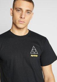 HUF - PULP FICTION MIA TEE - T-Shirt print - black - 3