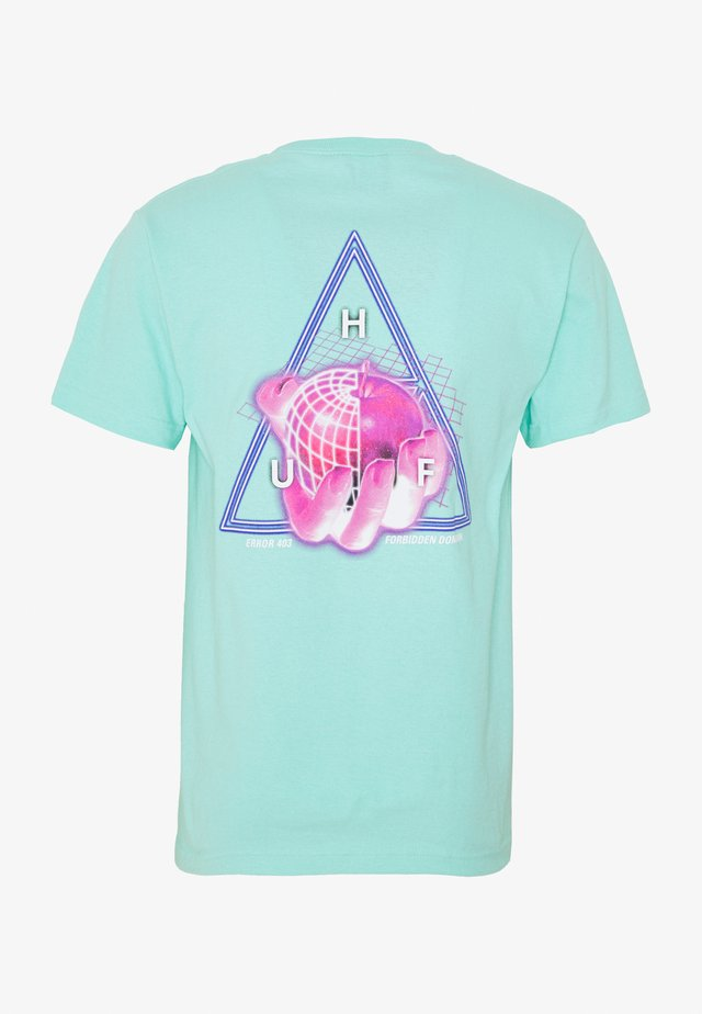 FORBIDDEN DOMAIN TEE - T-shirt print - mint