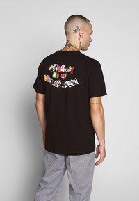 HUF - PRODUCT TEE - T-shirt med print - black - 0
