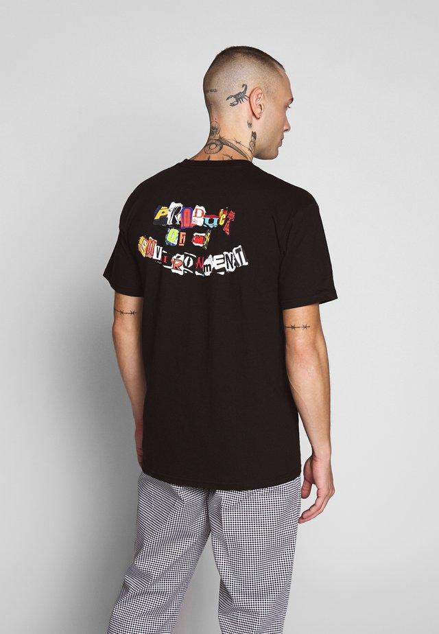 PRODUCT TEE - T-shirt med print - black