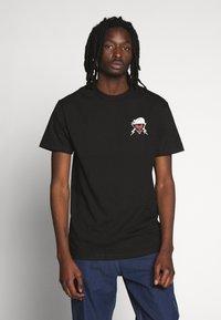 HUF - YEAR OF THE RAT TEE - T-Shirt print - black - 2