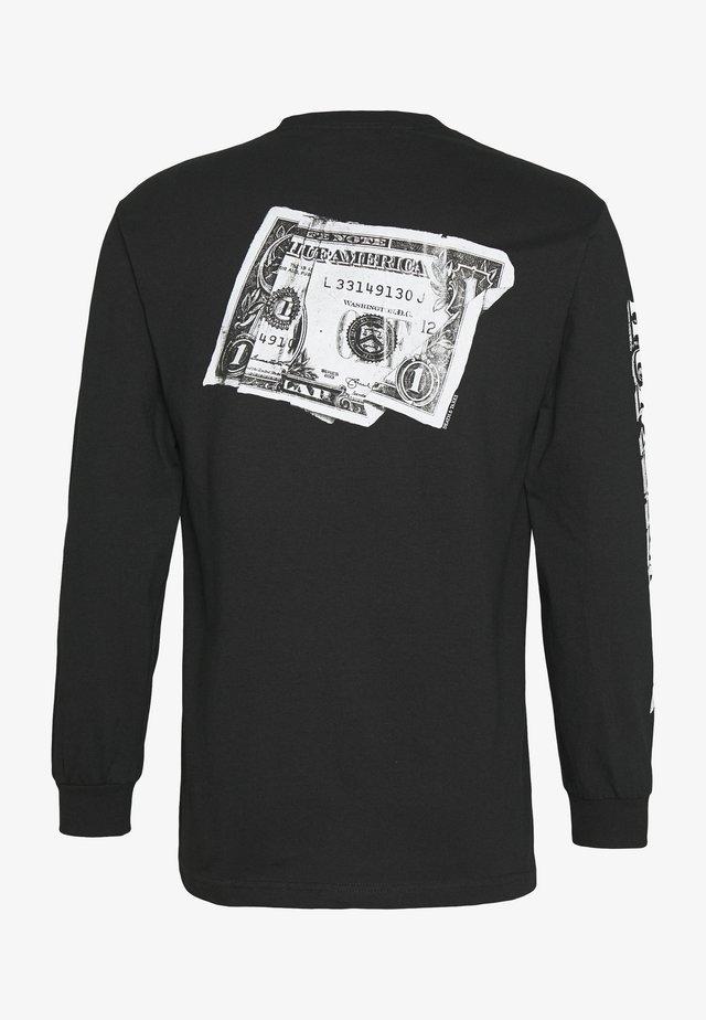 DEATH TAXES TEE - Langærmede T-shirts - black
