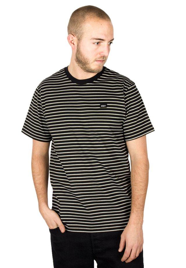 DAVIS  - Print T-shirt - black