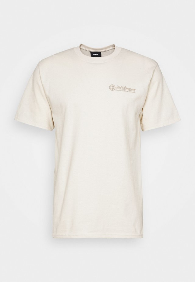 THUMB TEE - T-shirts print - natural
