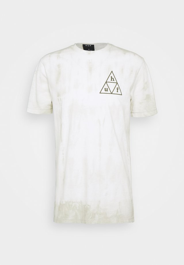 OVERGROWN TEE - T-shirt con stampa - white