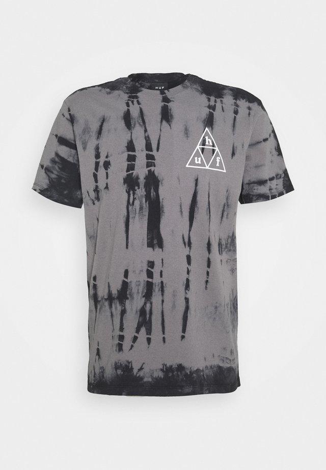OVERGROWN TEE - T-shirt con stampa - black