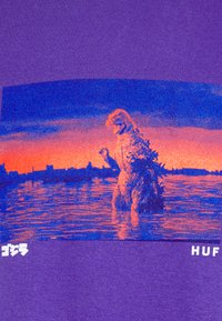 HUF - GODZILLA WATER TEE - Top sdlouhým rukávem - purple - 5