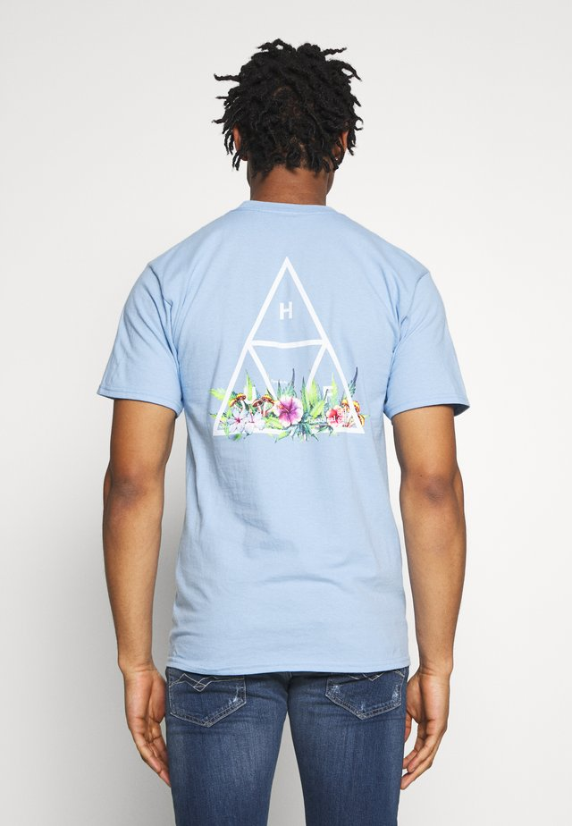 BOTANICAL GARDEN TEE - T-shirt med print - light blue