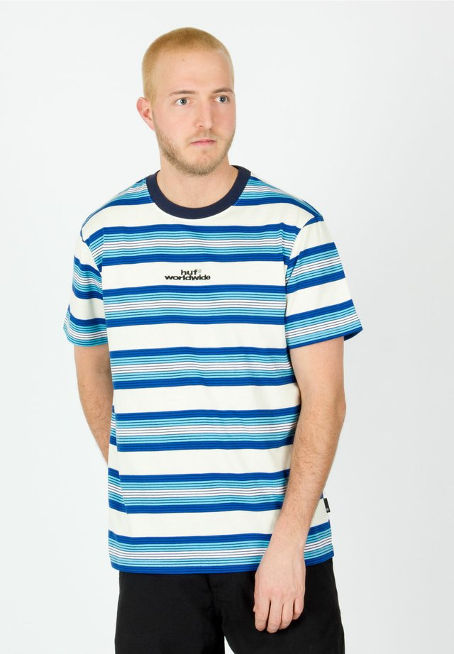 TRAVIS - Print T-shirt - olympian blue