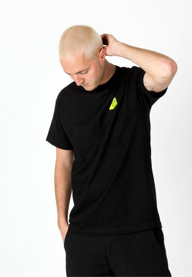 3D BOX - T-Shirt print - black