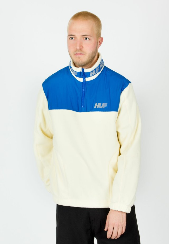 Fleece jumper - white