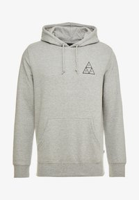 HUF - ESSENTIALS HOODIE - Mikina s kapucí - grey heather - 4