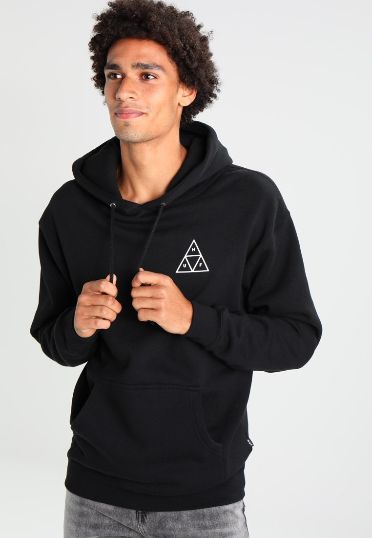 HUF - TRIPLE TRIANGLE - Kapuzenpullover - black