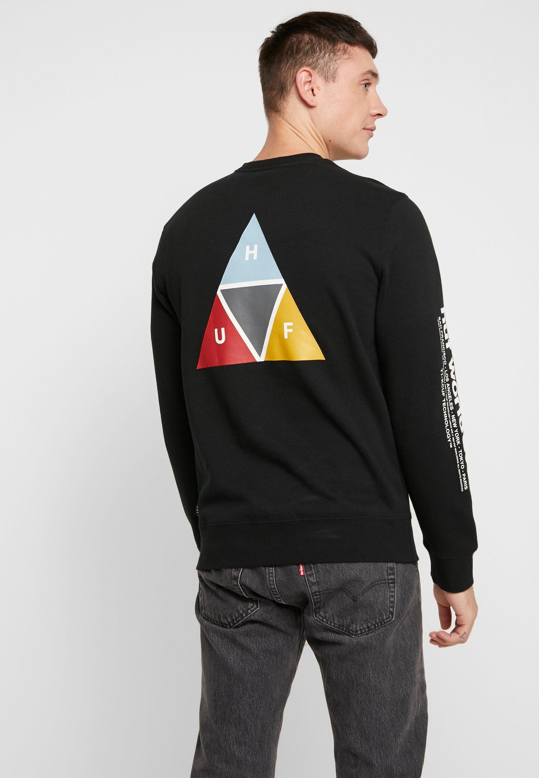 CrewSweatshirt Prism Prism CrewSweatshirt Huf Prism Huf Huf CrewSweatshirt Black Black Qthsrd