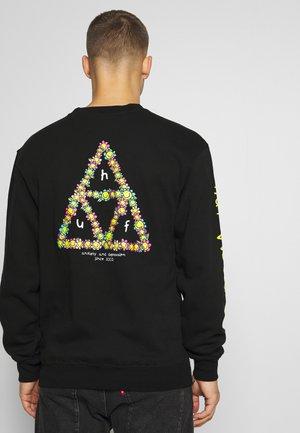 ANXIETY AND DEPRESSION CREW - Sweatshirt - black