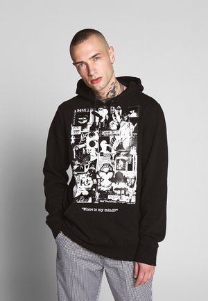 WHERE IS MY MIND HOODIE - Mikina s kapucí - black