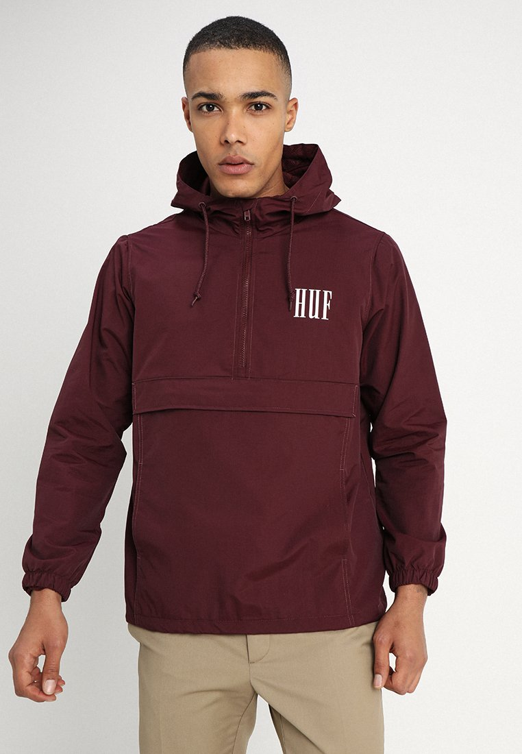HUF - MARKA ANORAK - Windbreaker - port royale