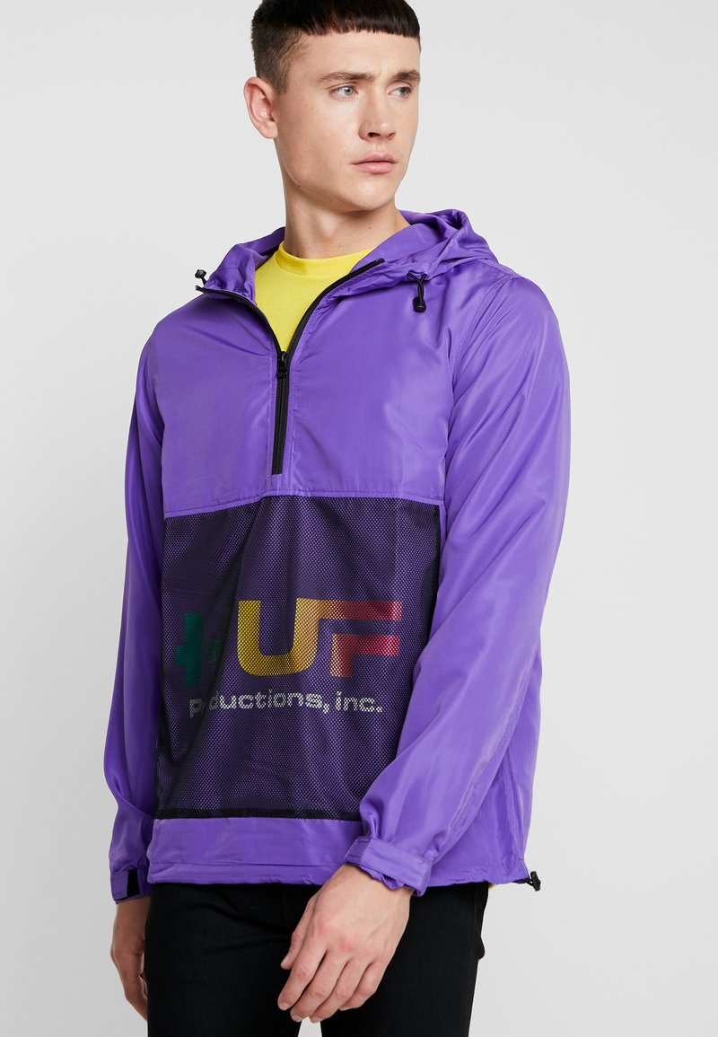 HUF - PRODUCTIONS INC - Windbreaker - ultra violet