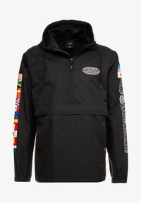 HUF - WORLD TOUR ANORAK - Větrovka - black - 3
