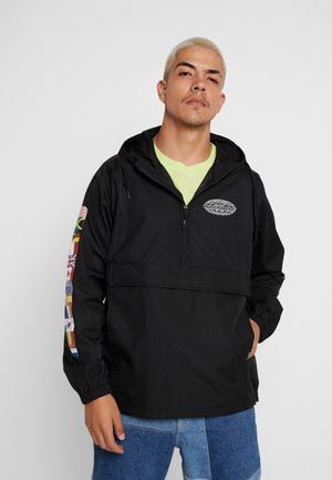 WORLD TOUR ANORAK - Tuulitakki - black